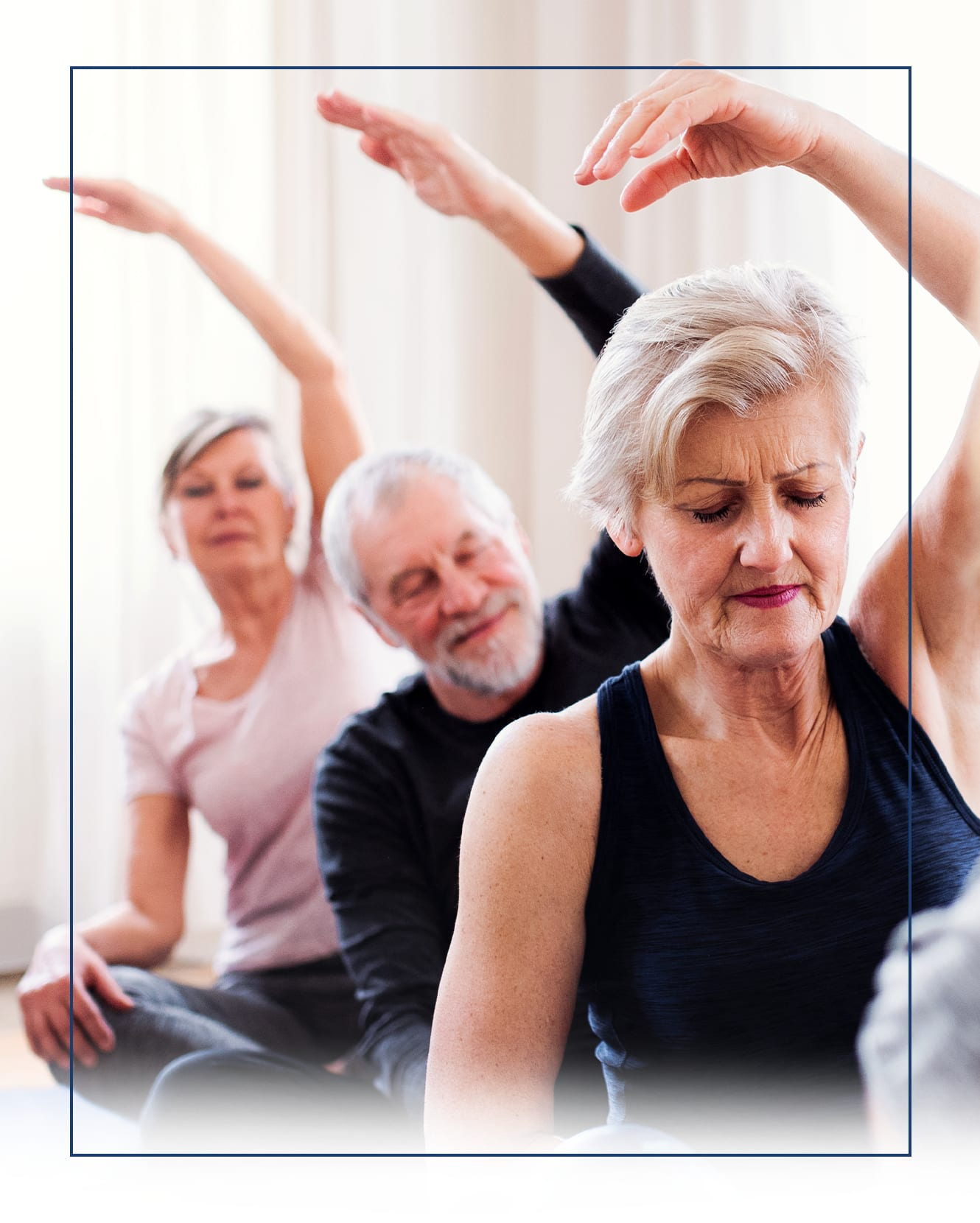 The Claiborne at Hattiesburg Independent Living offers a wellness center in Hattiesburg, Mississippi