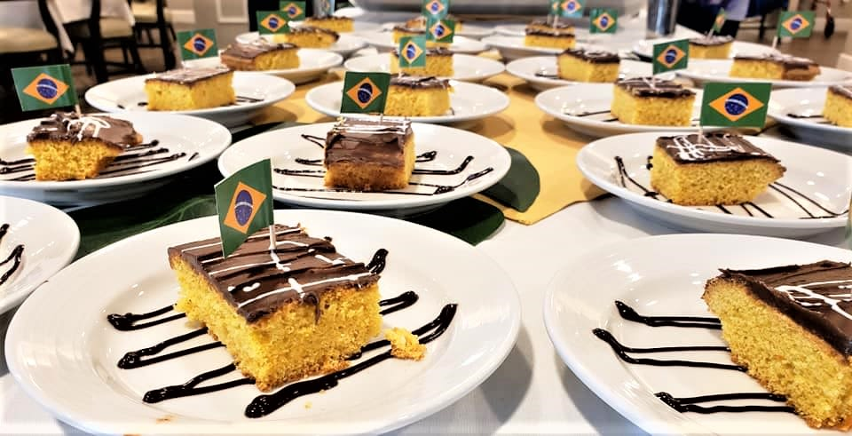 Brazilian Cakes at Inspired Living Ocoee in Ocoee, Florida.