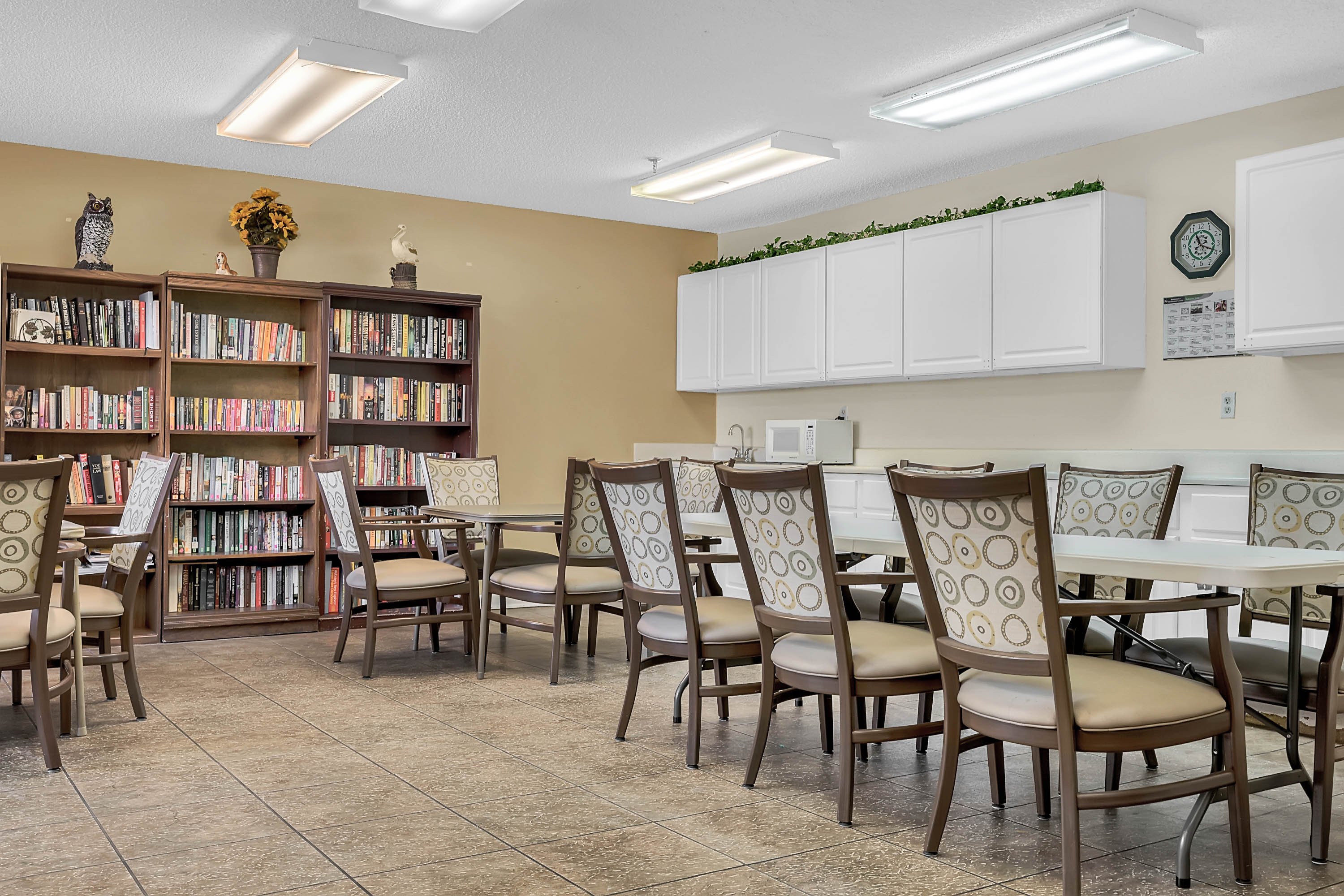 A Common Room at Renaissance Retirement Center in Sanford, Florida