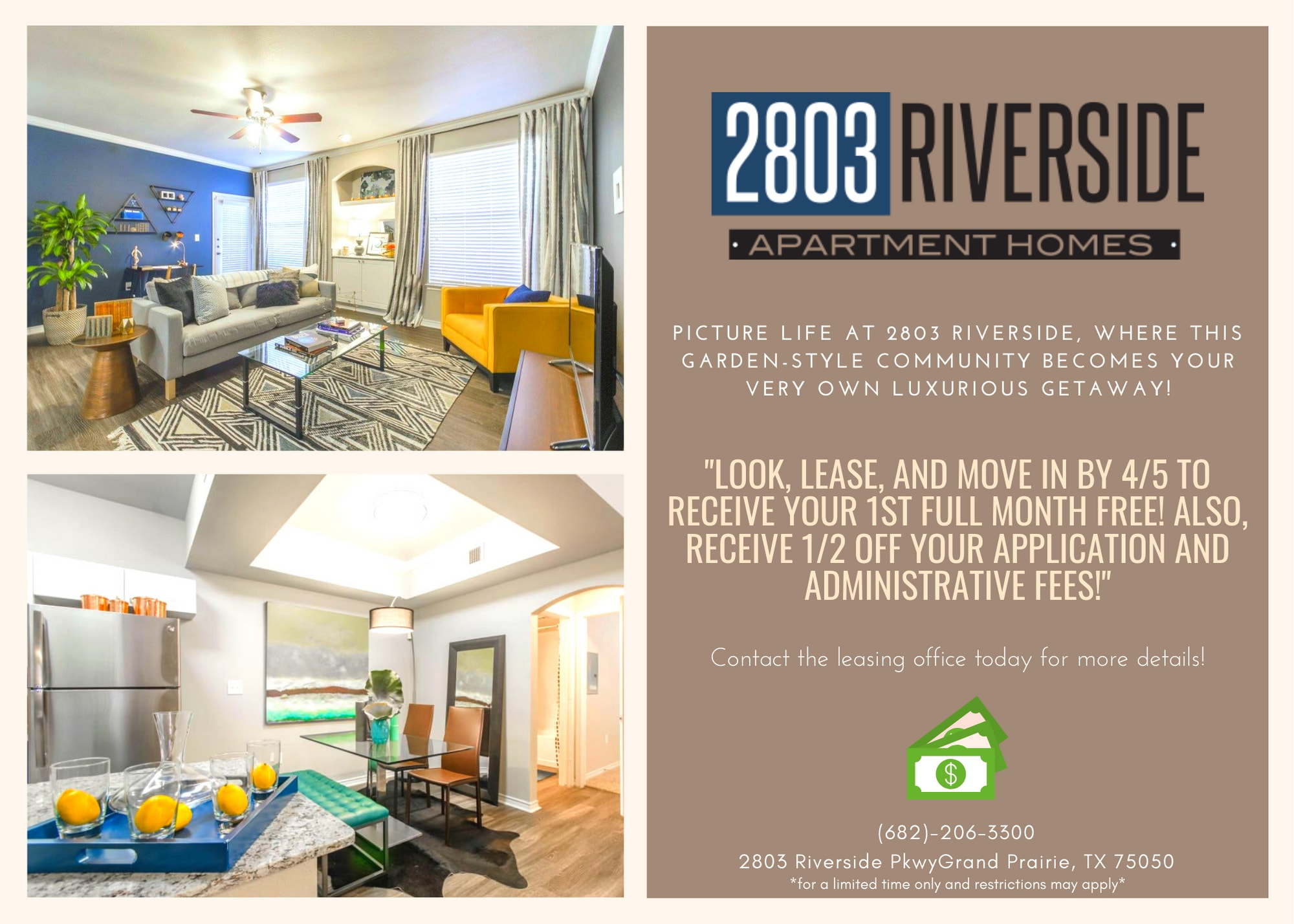 2803 Riverside current special