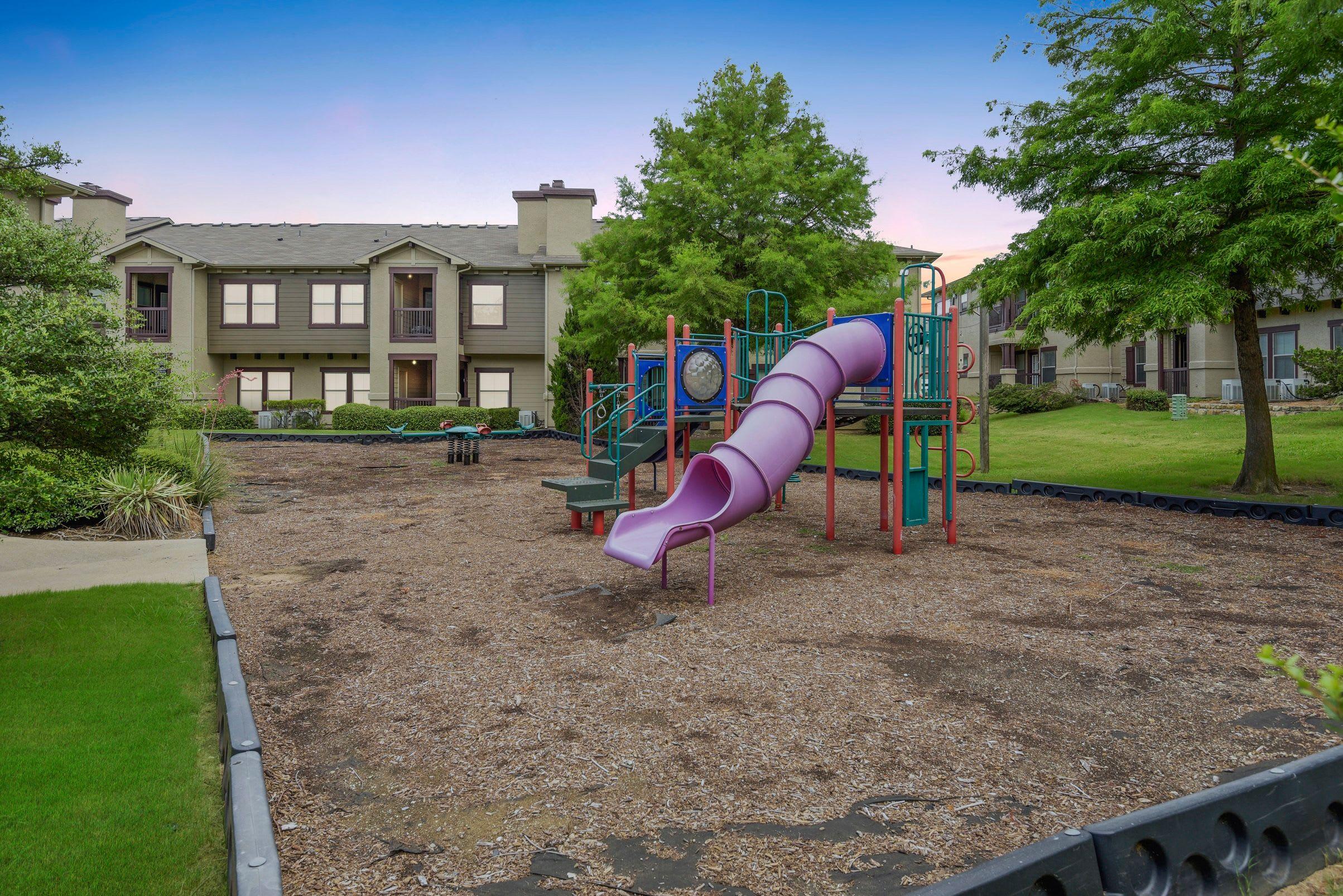 Kids playground at Ranch ThreeOFive in Arlington, Texas