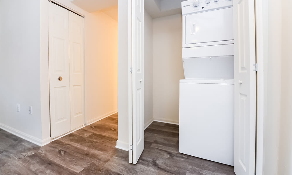 Waterview Apartments in West Chester, Pennsylvania offers Apartments with a Washer/Dryer