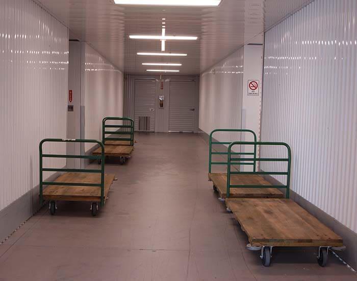 Flat beds to help moving at Superior Self Storage in El Dorado Hills
