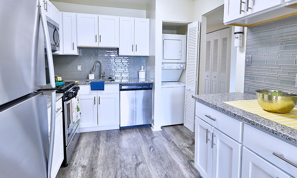 Modern Kitchen at East Meadow Apartments in Fairfax, VA