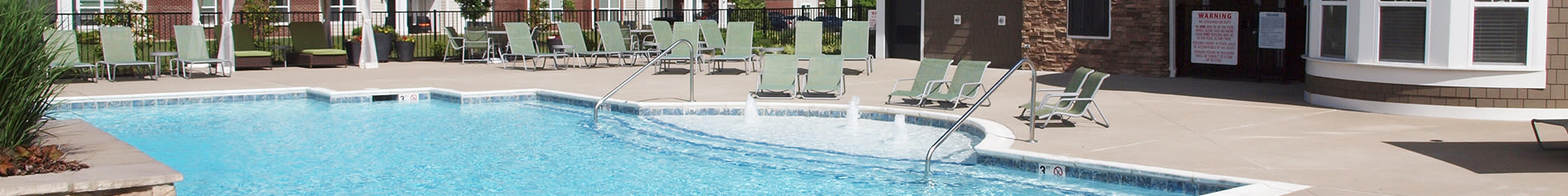 Great amenities at Meridian on Shelbyville