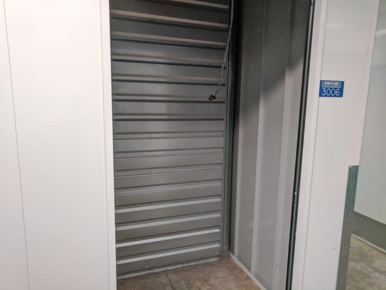 5x5 Interior Storage Unit Door Open at STOR-N-LOCK Self Storage