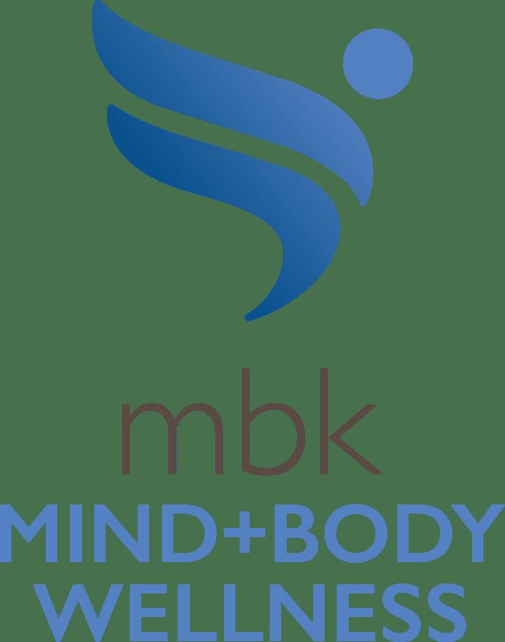 MBK mind body and wellness logo for Kirkwood Orange in Orange, California