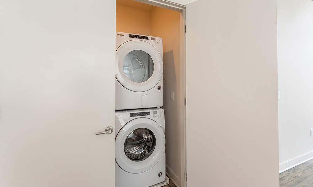 The Nathaniel apartments with a washer/dryer in Rochester, New York