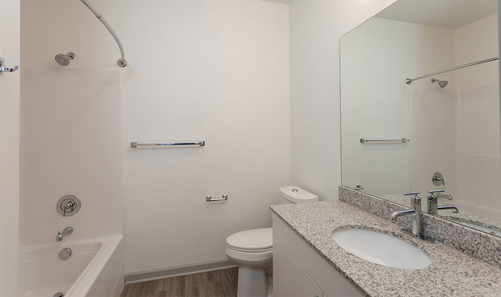 Bathroom at Winding Creek Apartments in Webster, New York