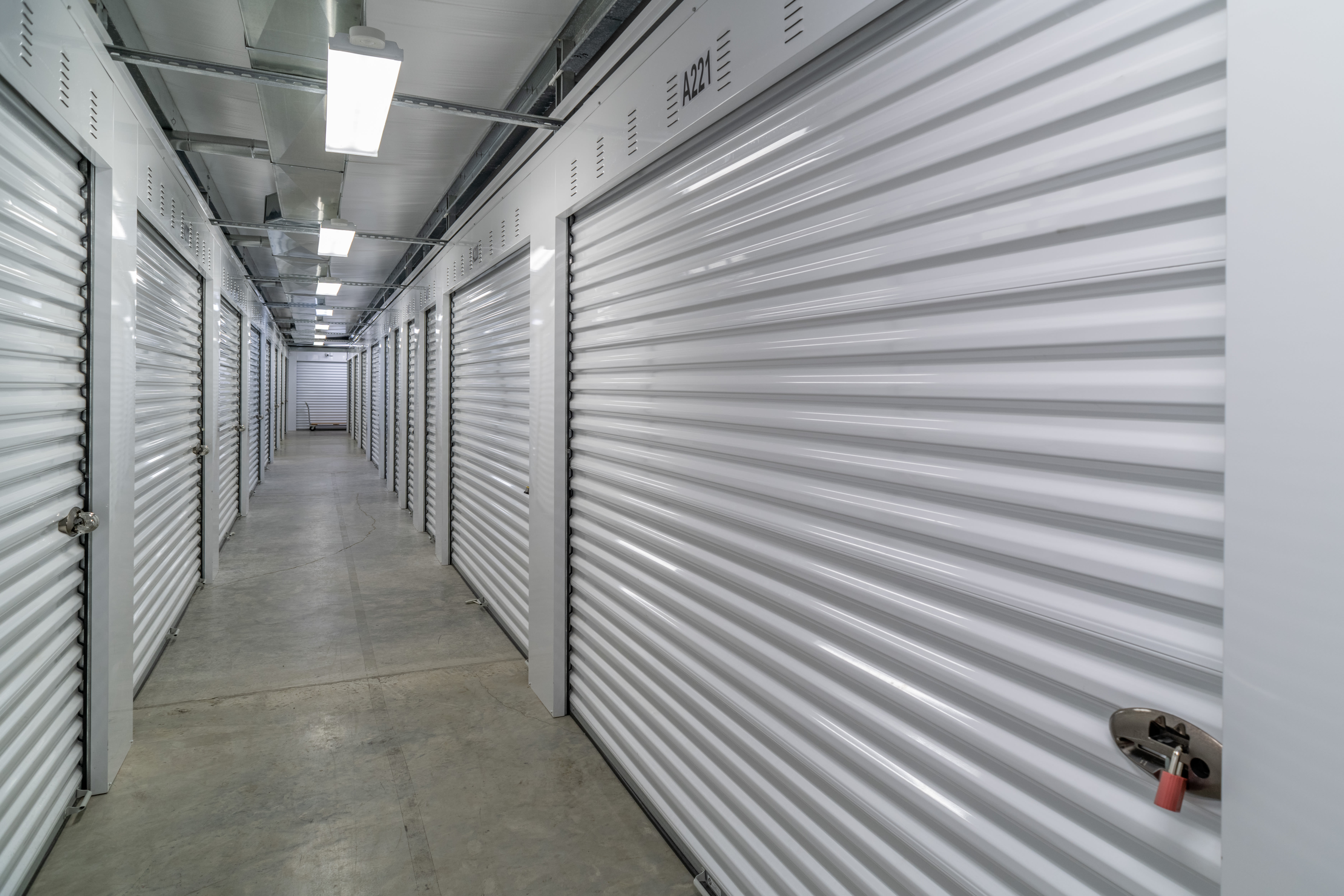 Climate-controlled storage units at StayLock Storage in Hurricane, West Virginia