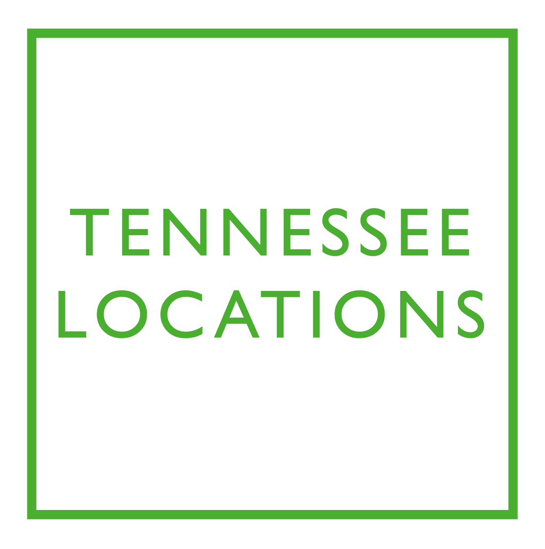 Check out our locations in Tennessee