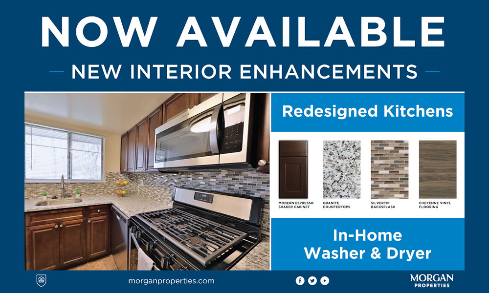 Now Available - New Interior Enhancements at Princeton Estates Apartment Homes