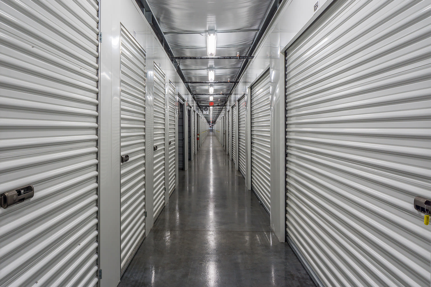 Drive-up units at StorQuest Self Storage in Fresno, California