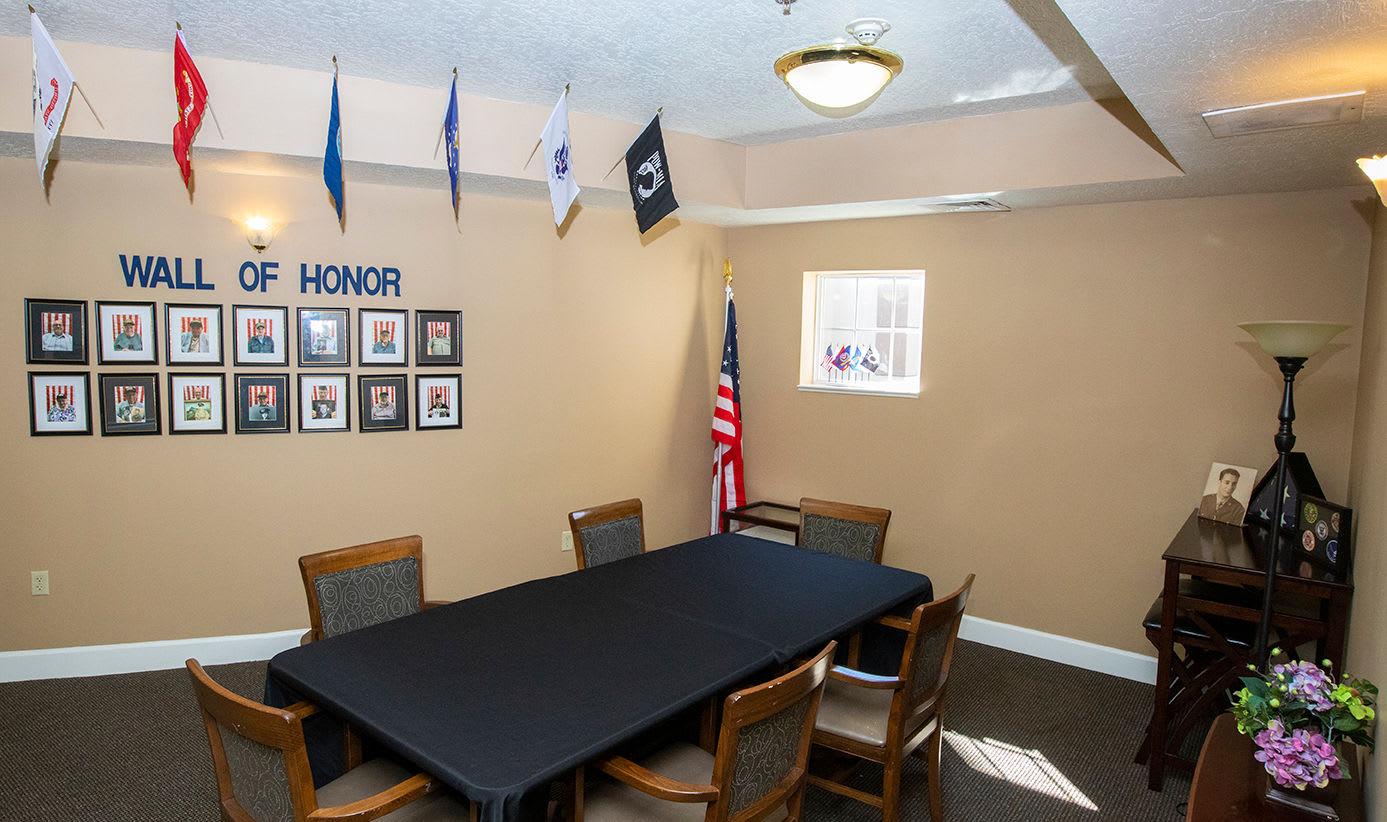 Office at Hibiscus Court Senior Living