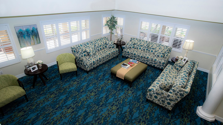 Living room at Savannah Grand of Maitland Senior Living