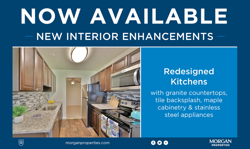 Learn More About the New Interior Enhancements at Stoneridge at Mark Center Apartment Homes in Alexandria, Virginia
