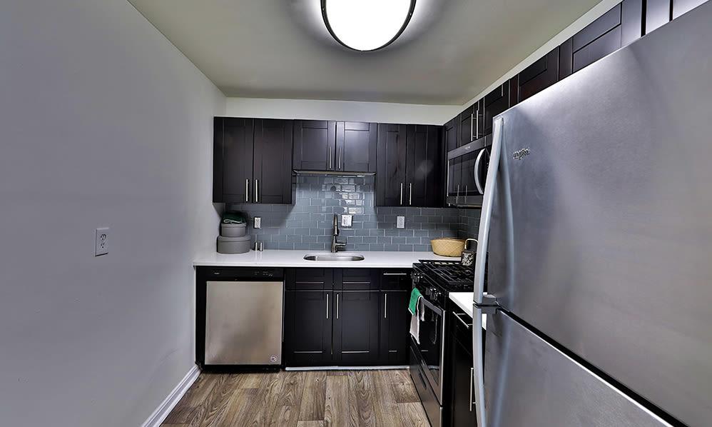 Kitchen at Apartments in Alexandria, Virginia