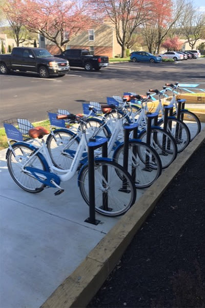 Our Apartments in Downingtown, Pennsylvania offer a Bike Share