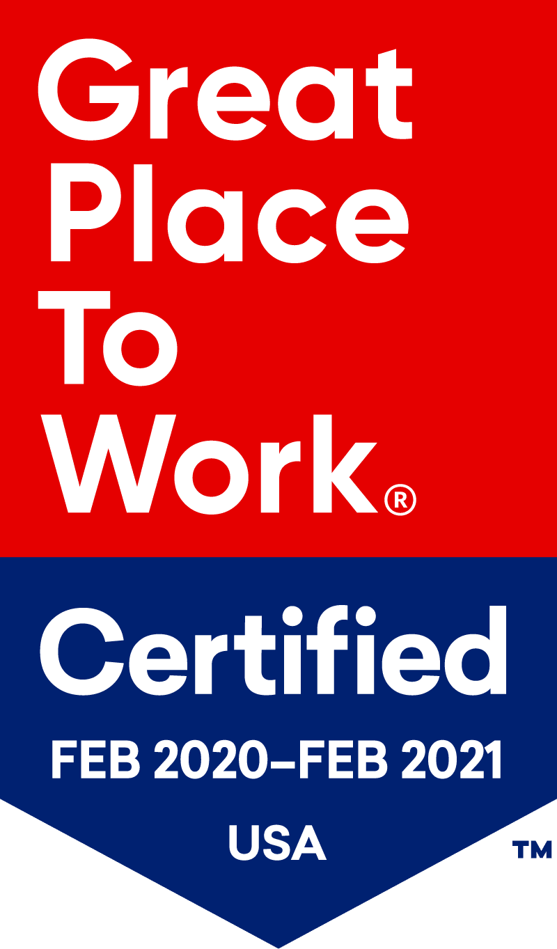 Great place to work badge for Keystone Commons
