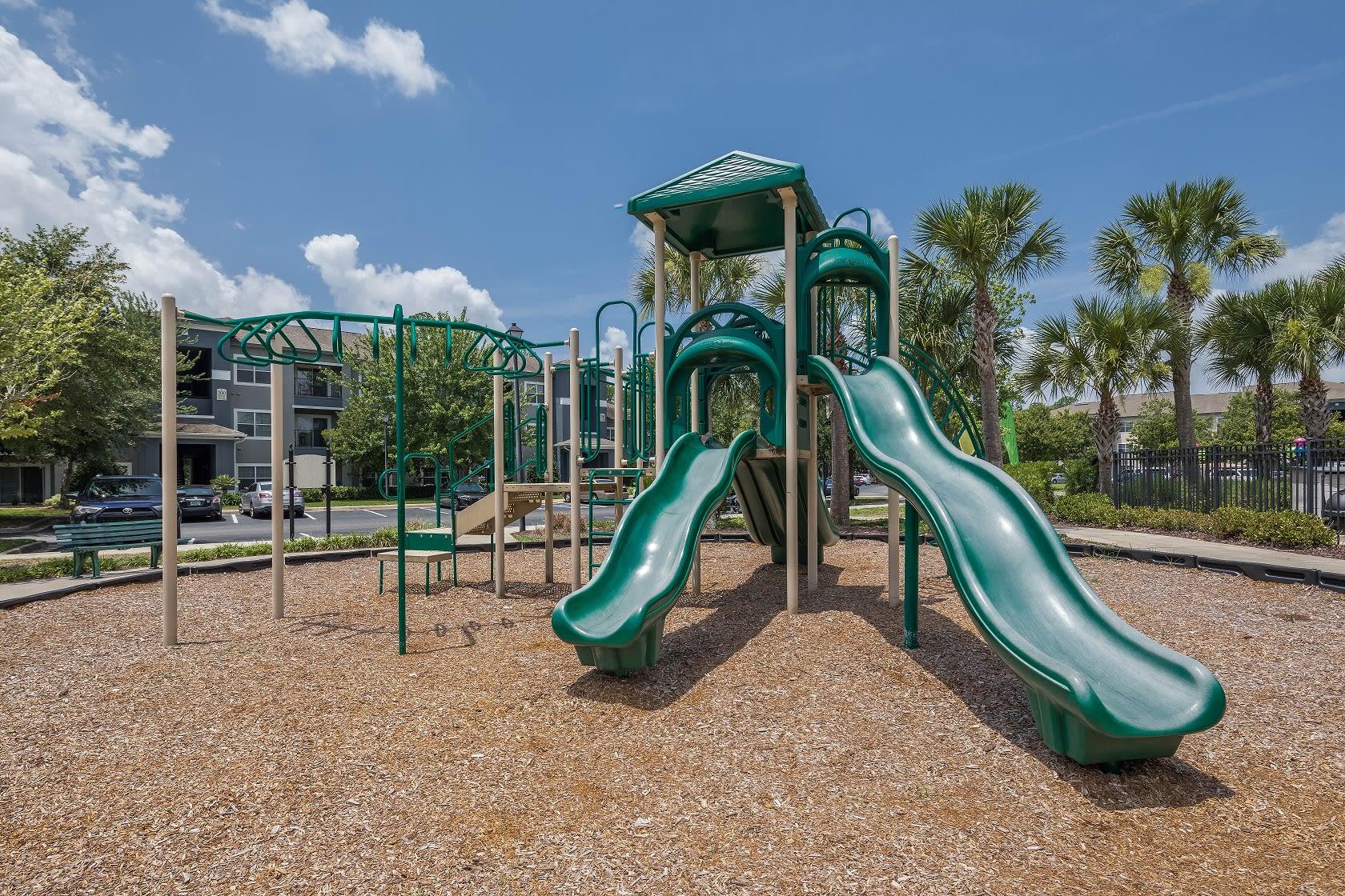 Kids playground near Mezza in Jacksonville, Florida