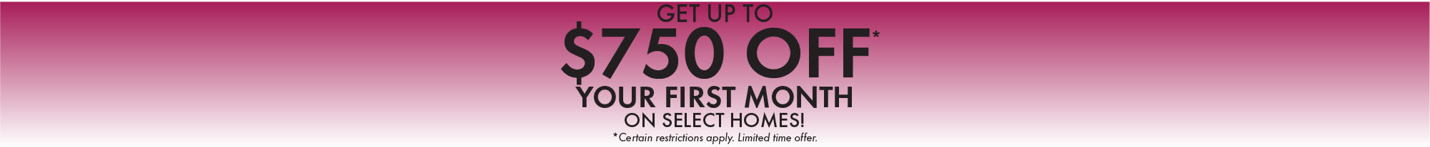 Special offer from Fox Chase South in Southgate, Kentucky
