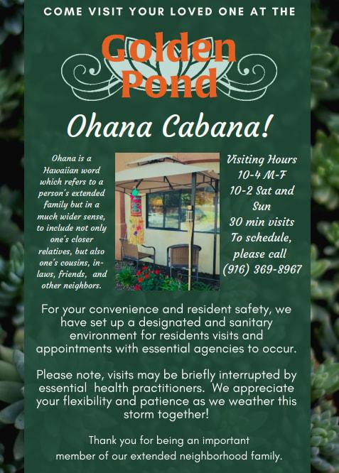 Ohana Cabana at Golden Pond Retirement Community