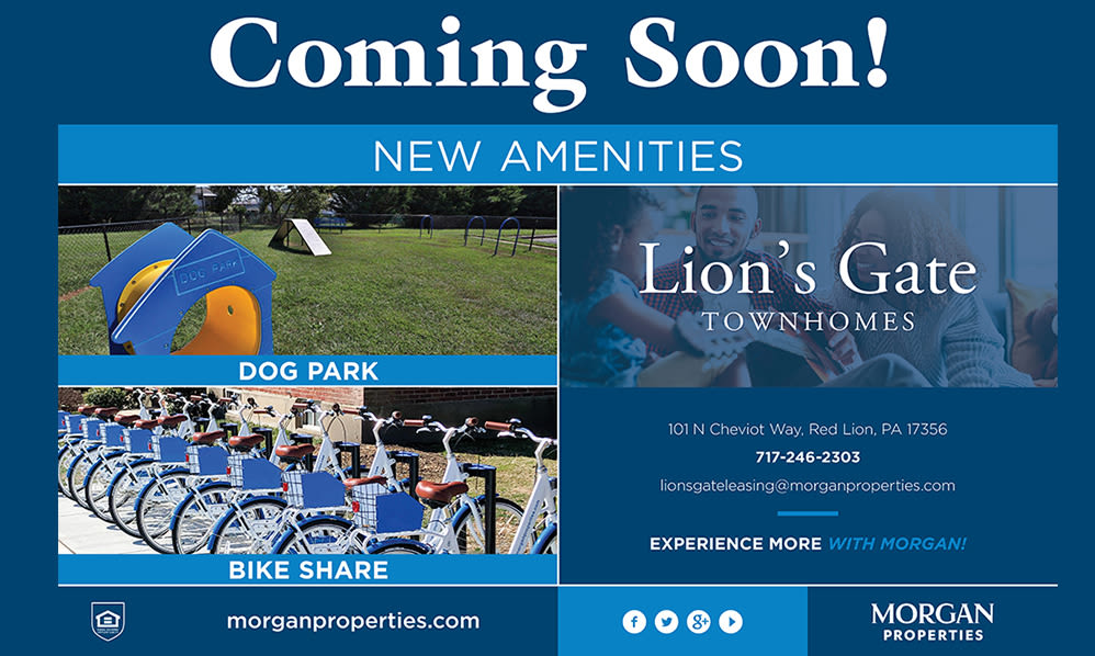 New Amenities at Lion's Gate Coming Soon!