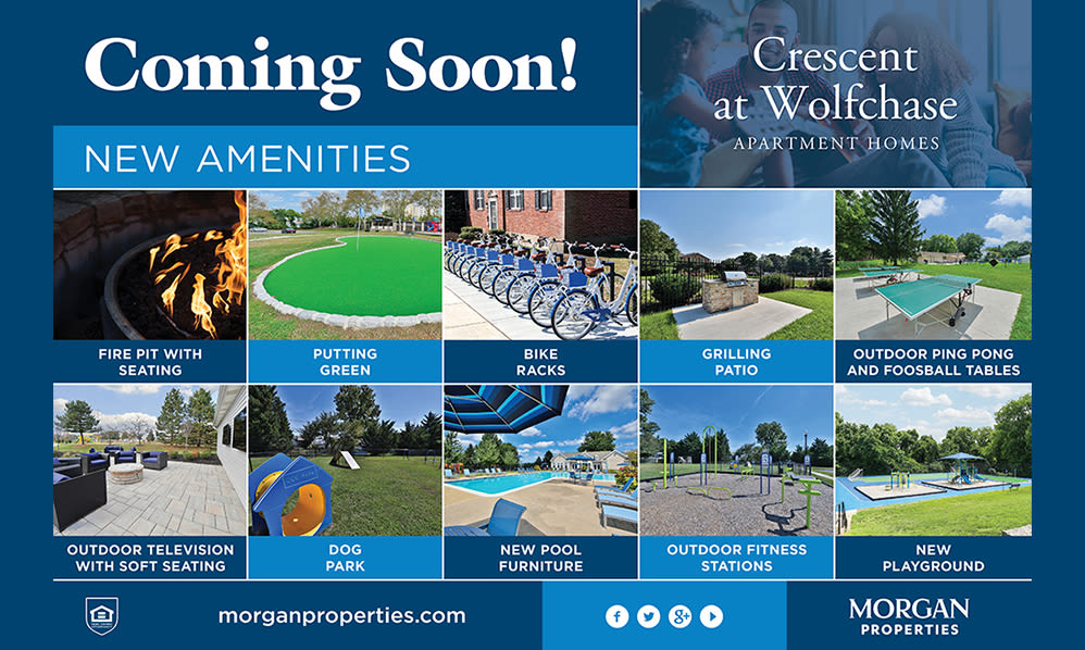 Amenities Coming Soon to Crescent at Wolfchase in Memphis, Tennessee
