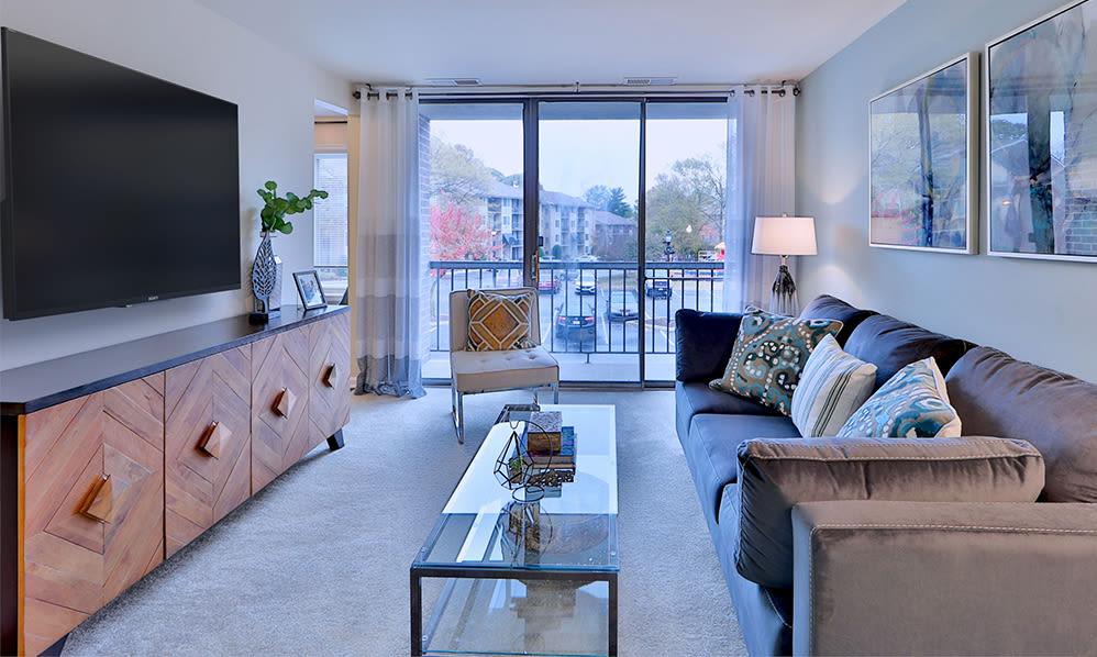 Spacious Living Room at Chesapeake Glen Apartment Homes   Apartments in Glen Burnie, MD