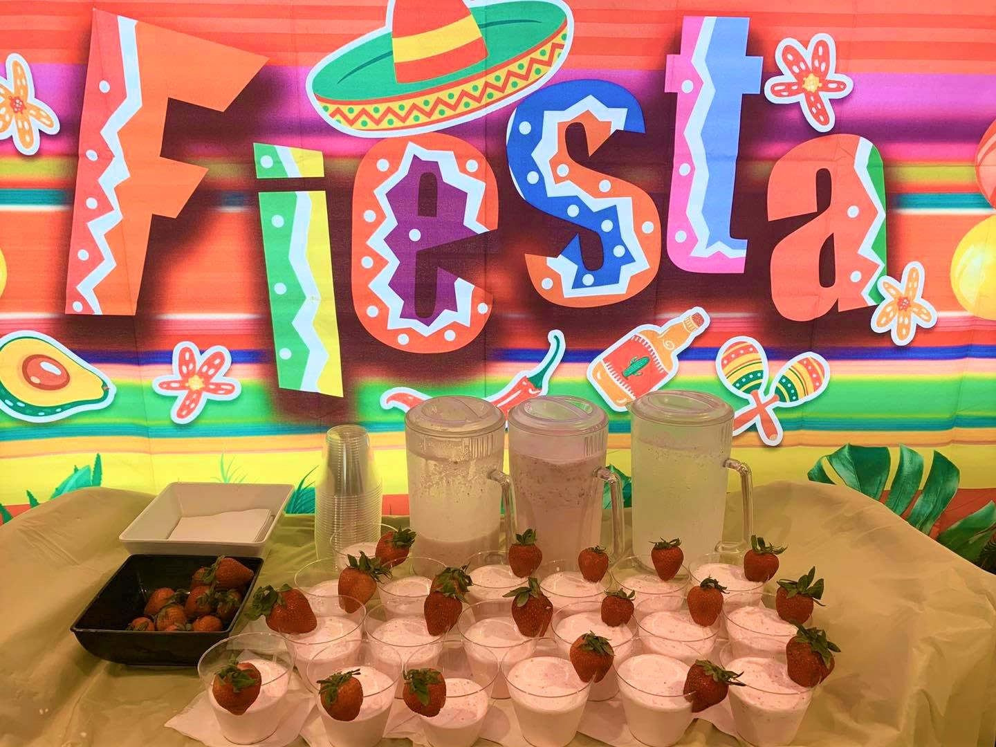 Fiesta Drinks at Inspired Living at Sun City Center in Sun City Center, Florida.