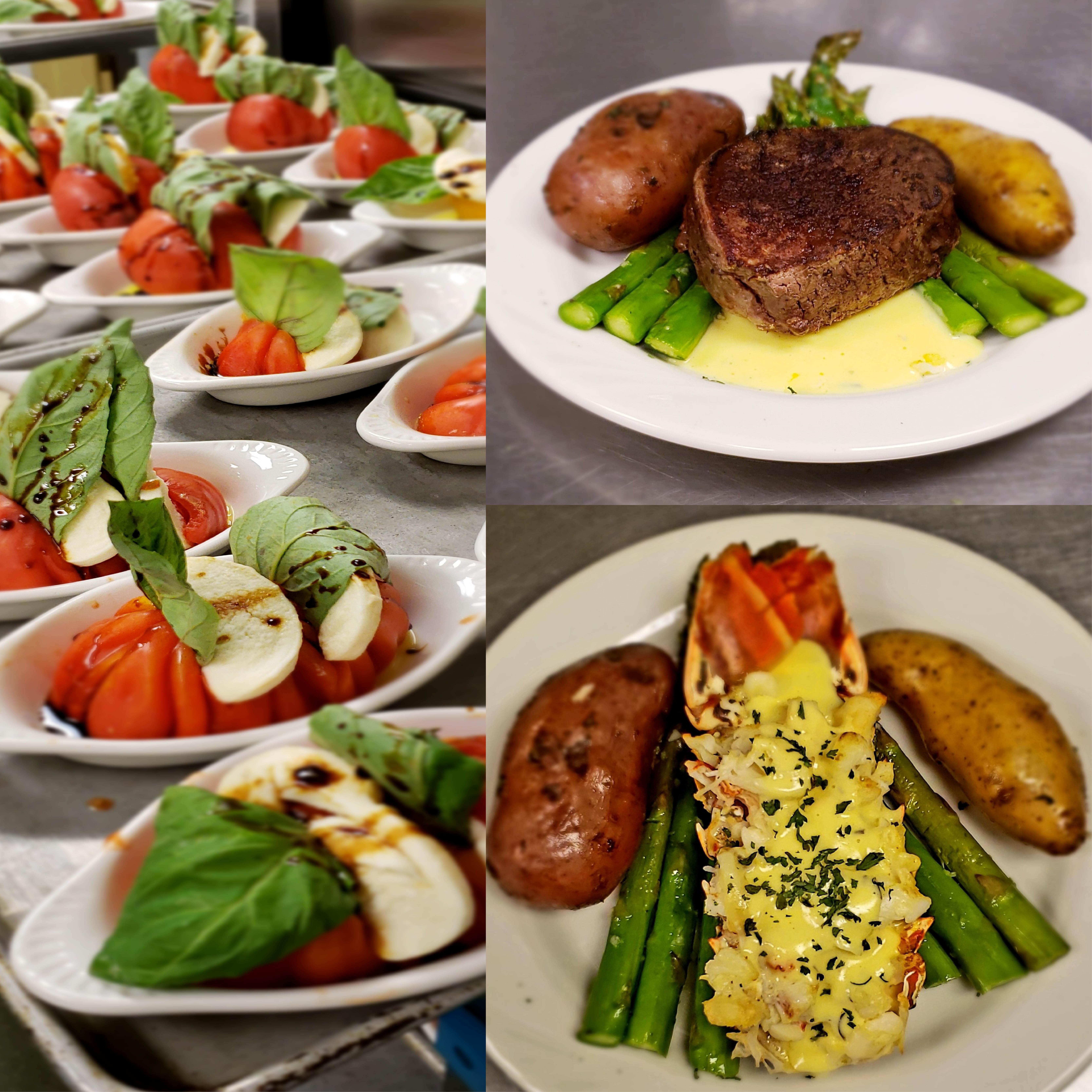 Fine dining at Elegance Hamilton Hill in Novato, California