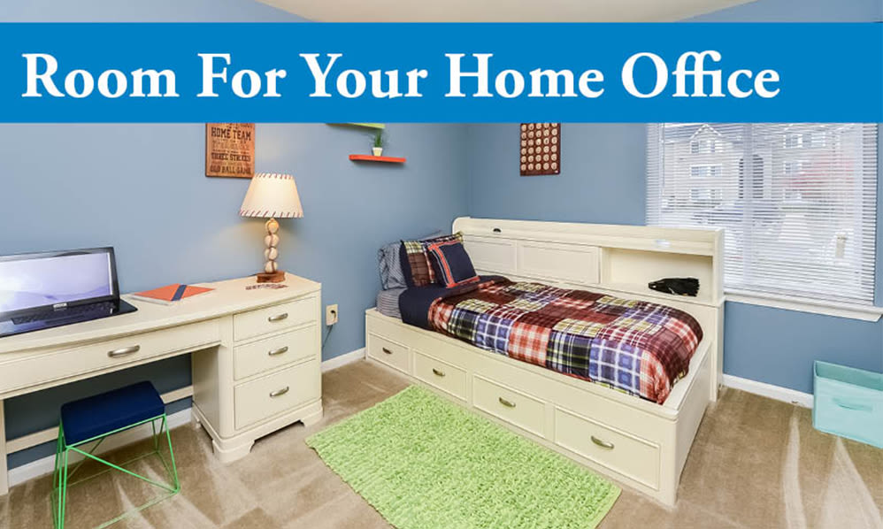 Home office at Fox Run Apartments & Townhomes in Bear, DE