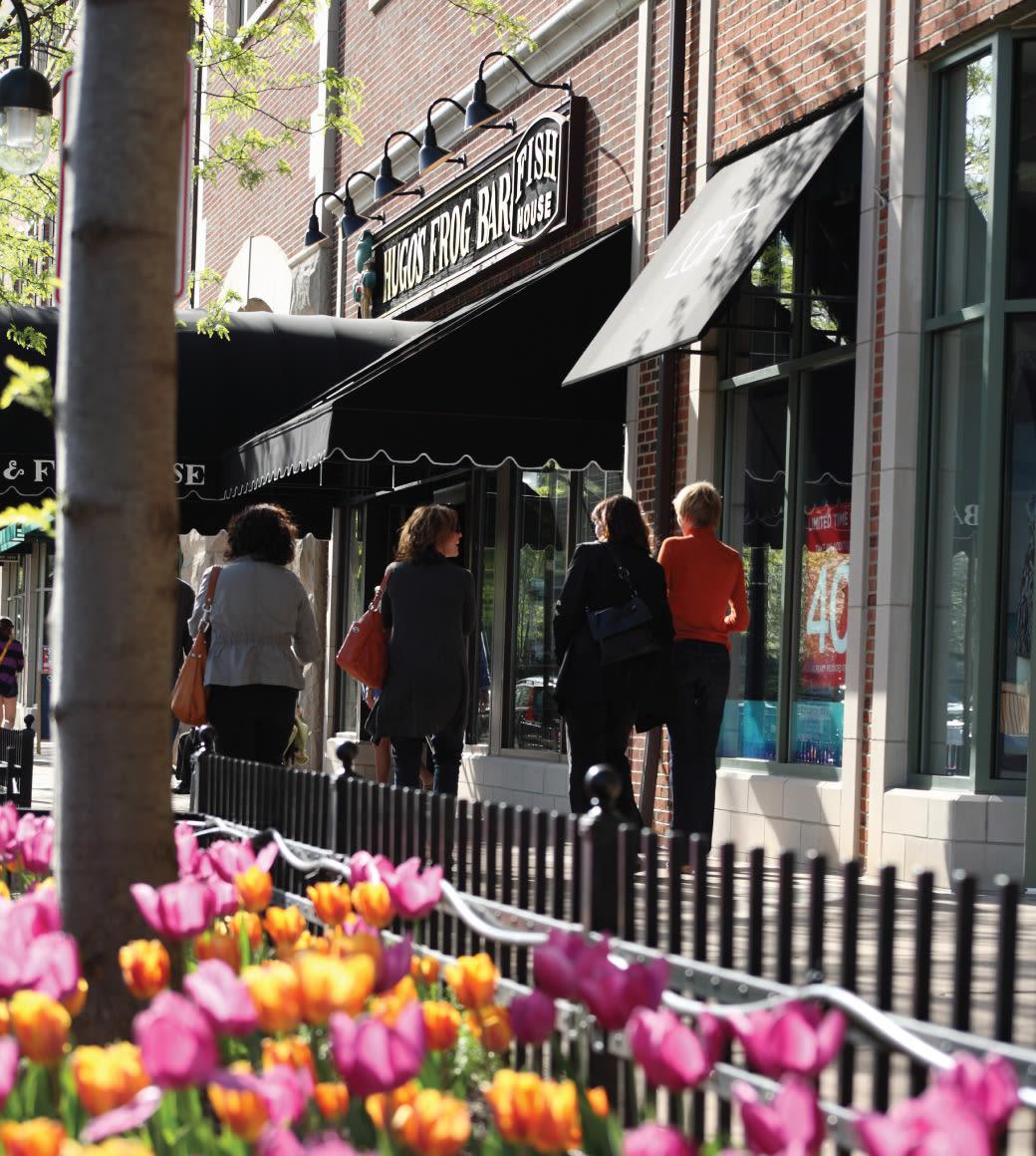 main street promenade shopping