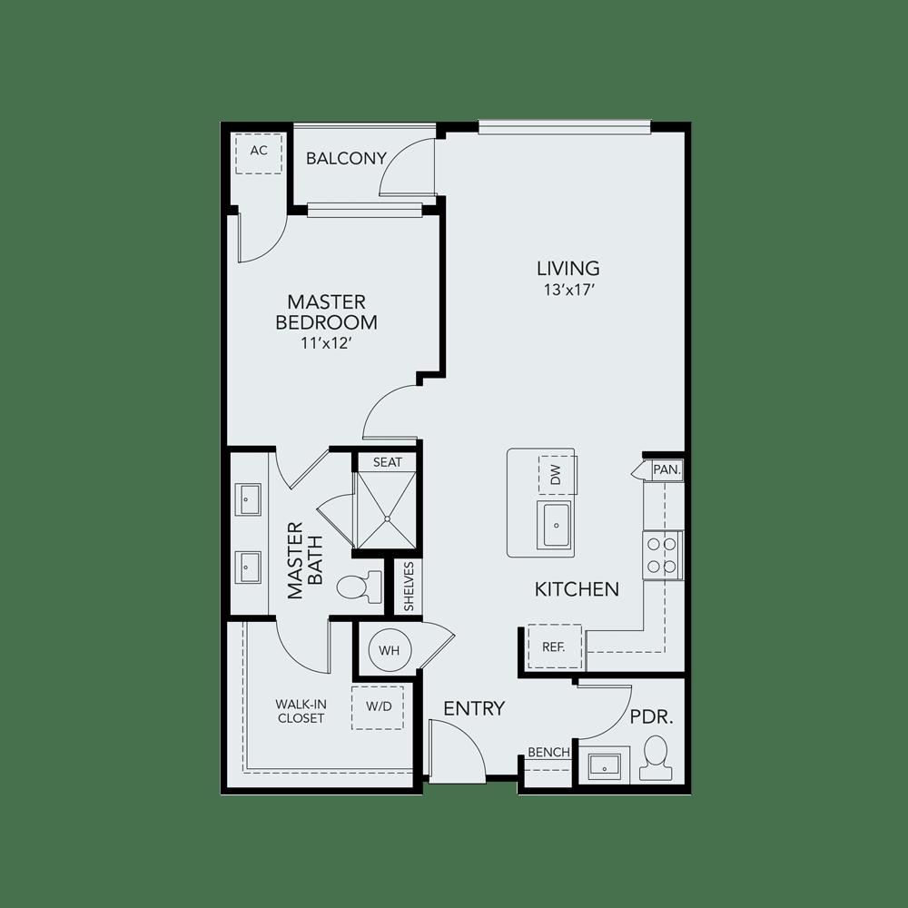 A2a floor plan