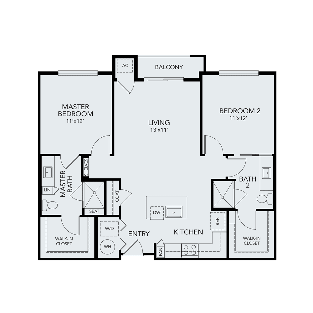 B2 ada floor plan