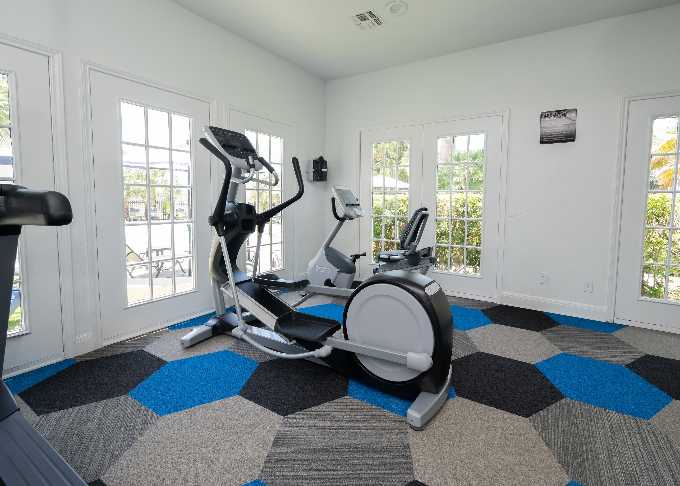Fitness center at Royal Palms in San Antonio, Texas