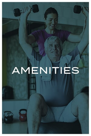 Amenities at Avenida Watermarq at Germantown senior living apartments in Germantown, Tennessee
