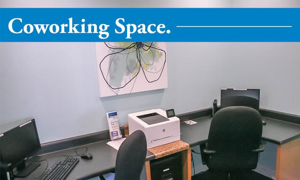 The Overlook at Golden Hills offers coworking space in Lexington, South Carolina