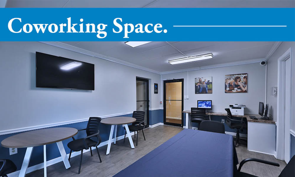 Our Apartments in Baltimore, Maryland offer a Coworking Space