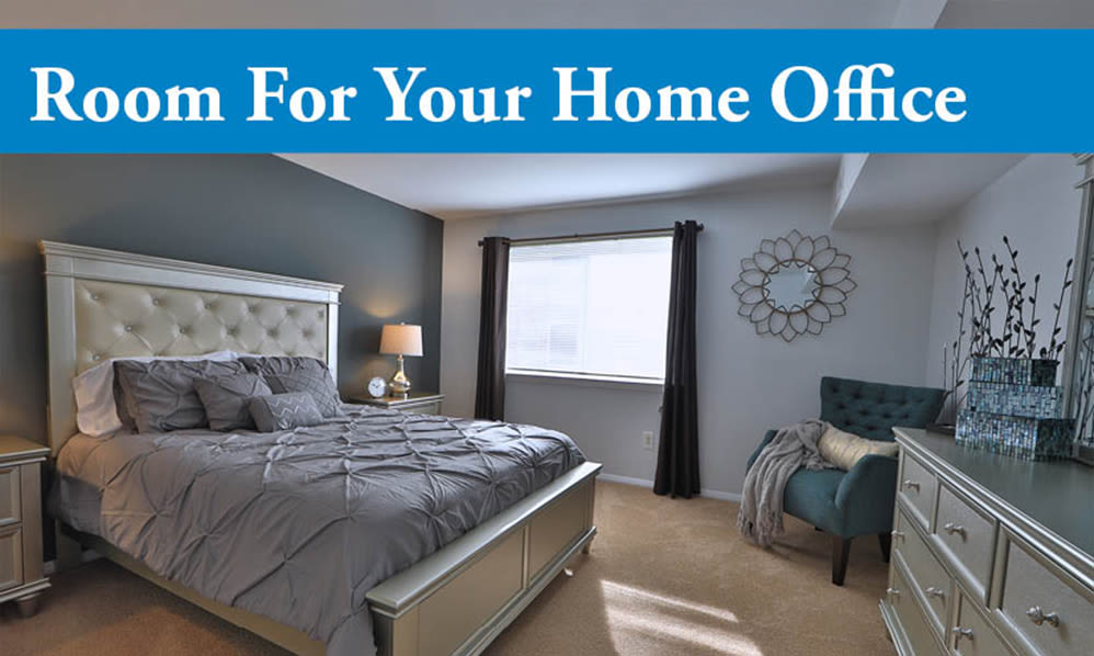 Willowood Apartment Homes offers home office space in Westminster, MD