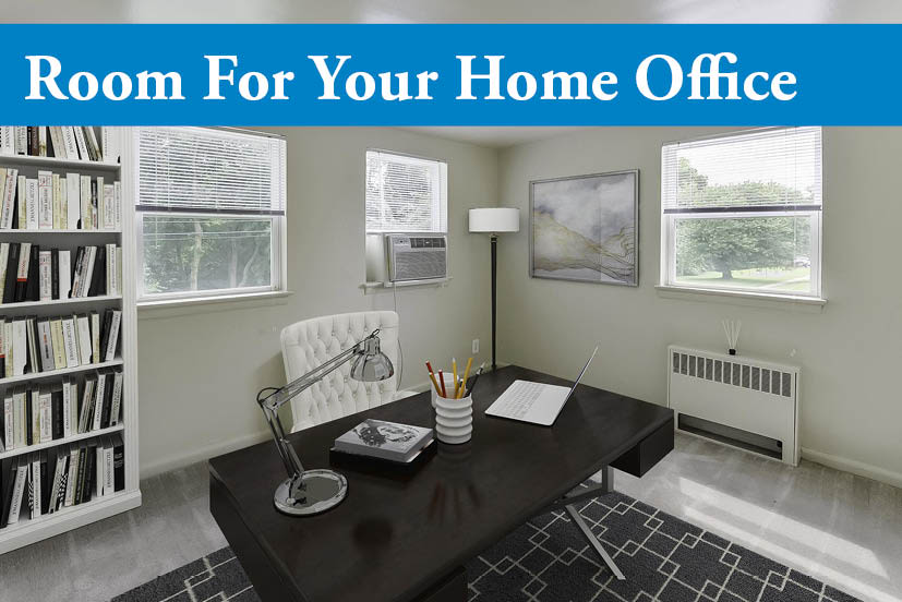 Our apartments in Harrisburg, Pennsylvania showcase home office space