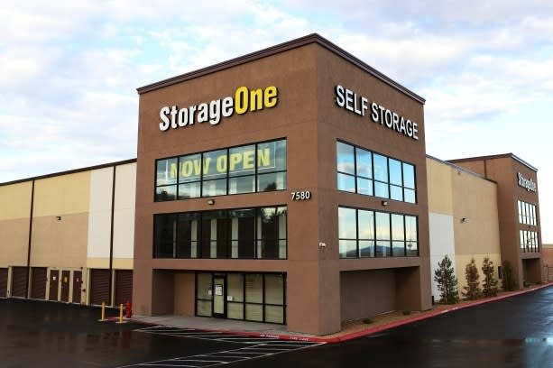 Exterior view at StorageOne Blue Diamond & Decatur in Las Vegas, Nevada