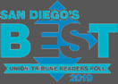 Union-Tribune Readers Poll San Diego's Best Logo 2019