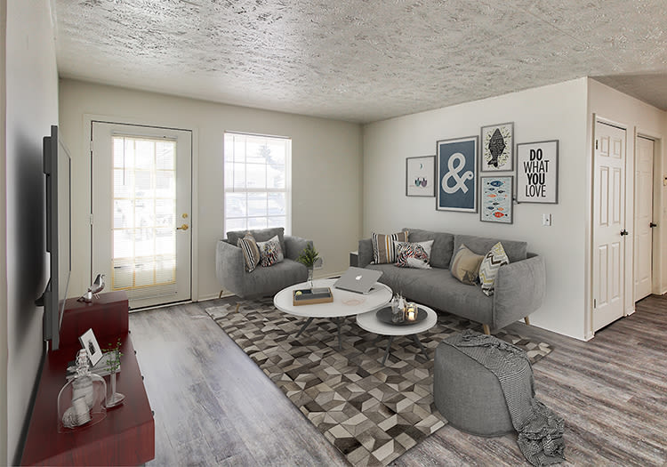 Beautifully desgined floor plans at Westview Commons Apartments in Rochester, New York