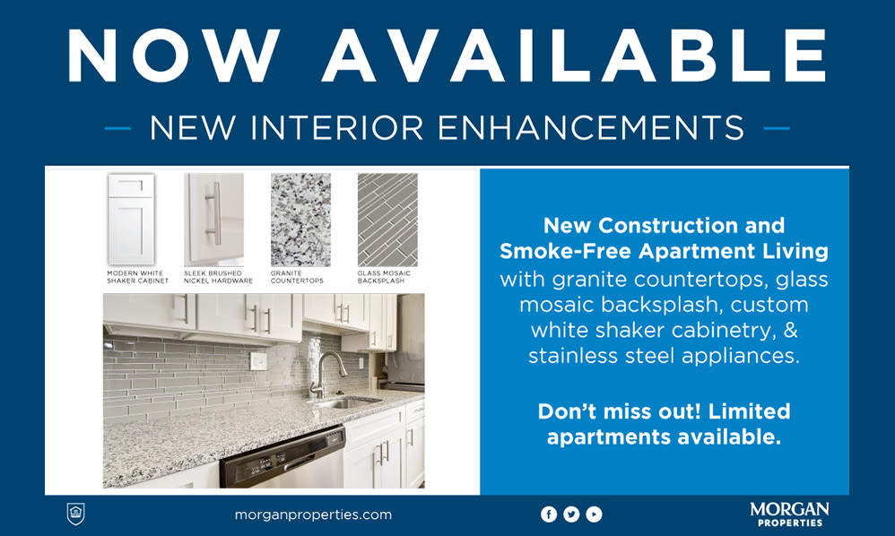 New Interior Enhancements Available at Fox Run Apartments & Townhomes in Bear, Delaware