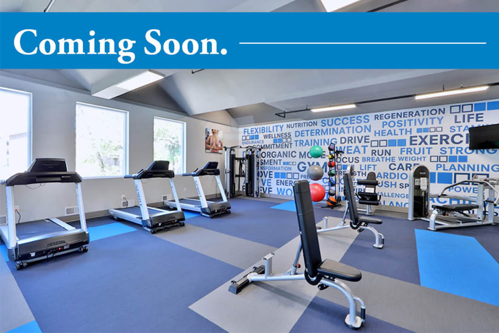 Fitness Center coming soon to Park Towers Apartments