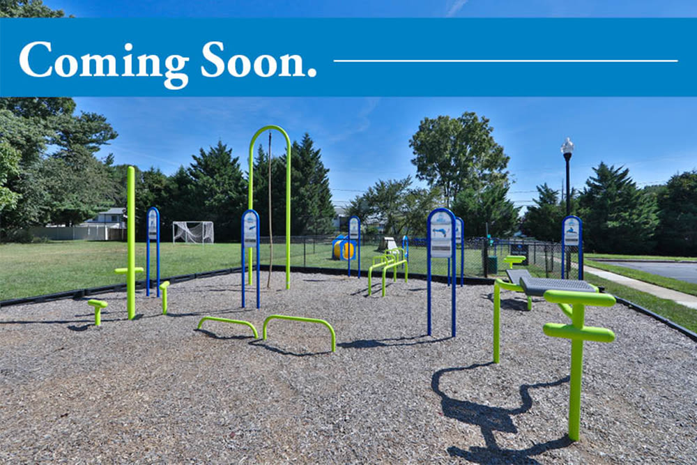 Playground coming soon to Park Towers Apartments