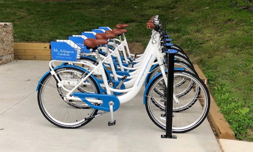 Bike share at Mt. Arlington Gardens Apartment Homes in Mt. Arlington, NJ