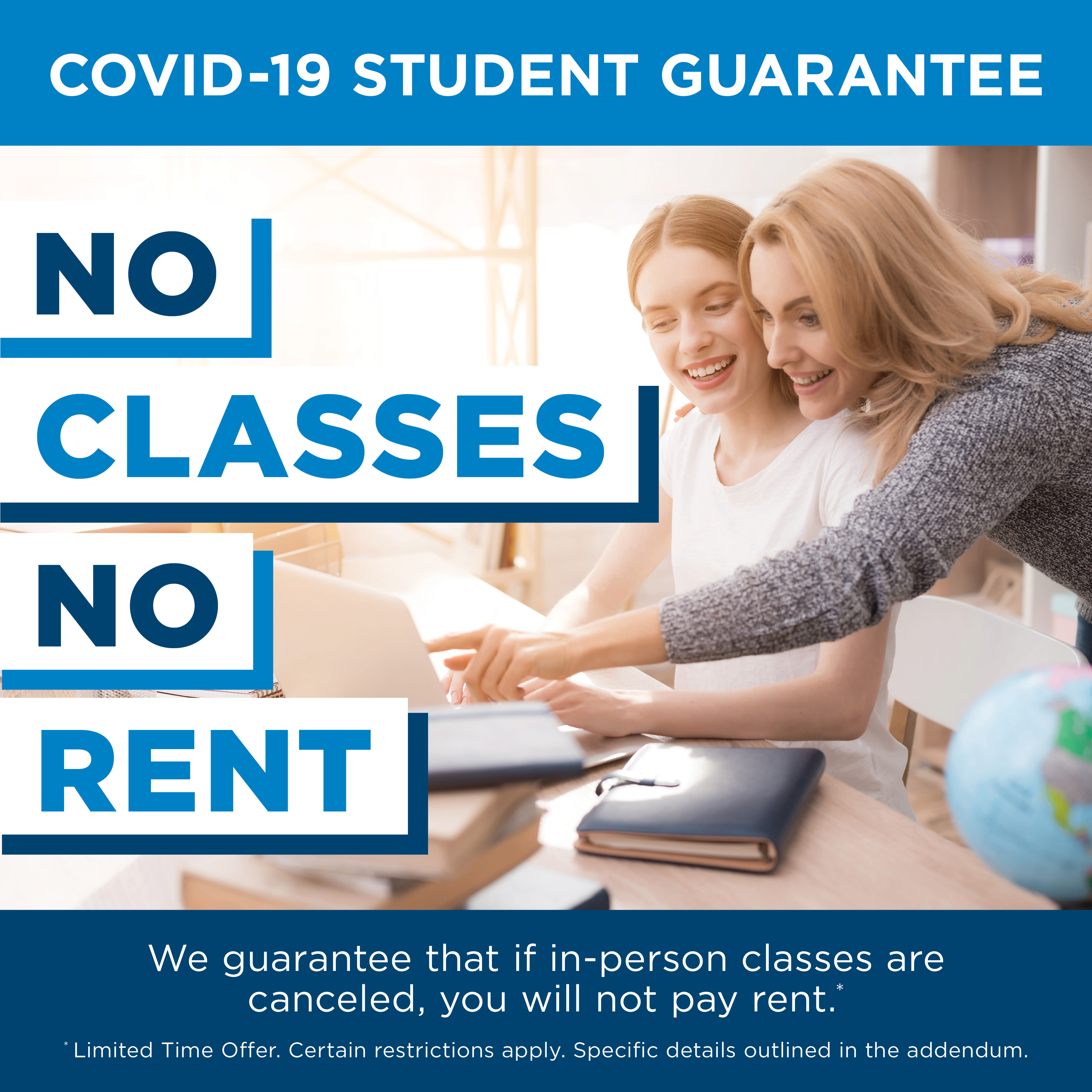 Briarwood Apartments & Townhomes COVID-19 Student Guarantee