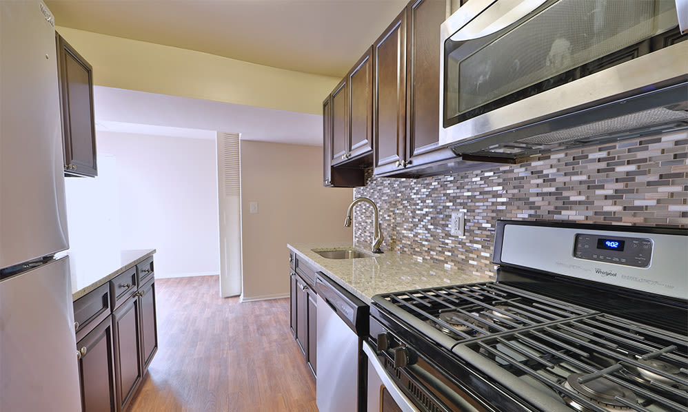 Kitchen at Carriage Hill Apartment Homes in Randallstown, Maryland